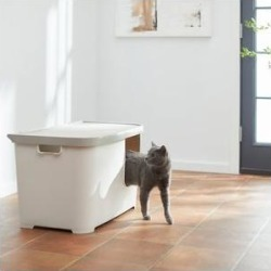 Frisco Multi-Function Covered Cat Litter Box, Jumbo found on Bargain Bro from Chewy.com for USD $45.59