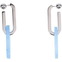 Earrings - Blue - Burberry Earrings found on Bargain Bro from lyst.com for USD $180.88