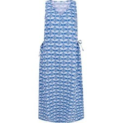 Linen Sun Dress Guava - Blue - Pink House Mustique Dresses found on Bargain Bro from lyst.com for USD $212.04