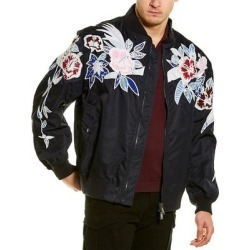 Valentino Bomber Jacket (52), Men's, Purple(polyamide, embroidered) found on Bargain Bro Philippines from Overstock for $1209.99