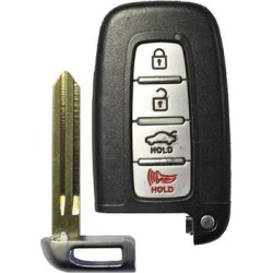 SY5RBFNA433 Hyundai OEM 4 Button Key Fob w/ Trunk Button found on Bargain Bro India from Refurbished Keyless Entry Remote for $128.77