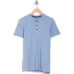 Core Henley T-shirt - Blue - Rag & Bone T-Shirts