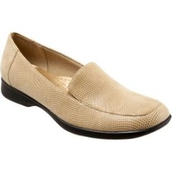 Women's Jenn Mini Dots Leather Loafer by Trotters in Nude Mini Dots (Size 7 M) found on Bargain Bro India from Woman Within for $99.99