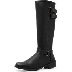 Bota Montaria Mr Shoes Cano Alto Feminina Preto found on Bargain Bro Philippines from Kanui for $63.66