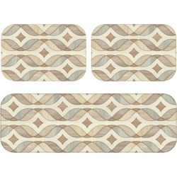Kit Tapete Love Decor de Cozinha Abstrato Wood Único found on Bargain Bro Philippines from Tricae for $37.69