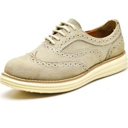 Sapato Oxford Casual Conforto Camurça Gelo found on Bargain Bro Philippines from Kanui for $68.56