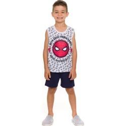 Pijama Infantil Masculino VerÁo Evanilda Marvel Homem Aranha found on Bargain Bro Philippines from Tricae for $28.18