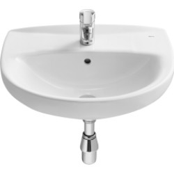 Roca Laura Basin 560 x 460 mm 1 Tap Hole 326393005 - 551429 found on Bargain Bro UK from City Plumbing