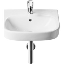 Roca Debba Cloakroom Basin 1 Tap Hole 450 X 370mm - 695788 found on Bargain Bro UK from City Plumbing