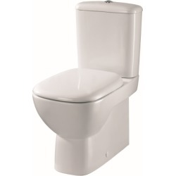 Twyford Moda Close Coupled Back to Wall Toilet Pan MD1468WH - 212038 found on Bargain Bro UK from City Plumbing