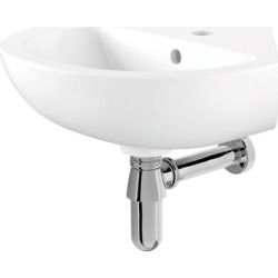 iflo Cascada Corner Cloakroom Basin 450 mm - 251797 found on Bargain Bro UK from City Plumbing