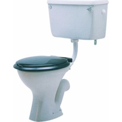 Twyford Classic Low Level Toilet Pan (S Trap) CC1131WH - 931298 found on Bargain Bro UK from City Plumbing