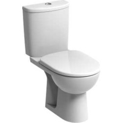 Twyford E12590WH E100 Round Close Coupled Cistern Push Button - 922742 found on Bargain Bro UK from City Plumbing