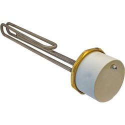 "11"" 1 3/4"" Unvented Incoloy Immersion Heater - 434409"