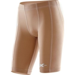 2XU Kids Compression Full Short - Beige/Beige found on MODAPINS from SlashSport for USD $36.62