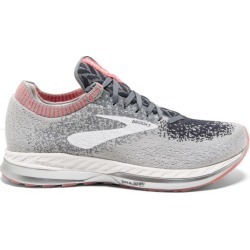 Brooks Bedlam - Womens Running Shoes - Grey/Coral/White