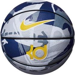 Nike KD Playground Outdoor Basketball - Size 6 - Rush Blue/Black/White/Amarillo