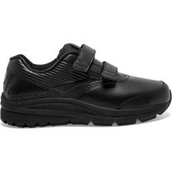 Brooks Addiction Walker 2 Leather Velcro - Womens Walking Shoes - Black