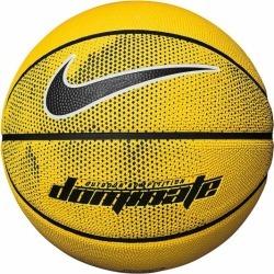 Nike Dominate Outdoor Basketball - Size 7 - Amarillo/Black/White