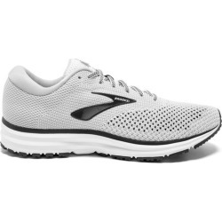 Brooks Revel 2 - Mens Running Shoes - White/Grey/Black found on Bargain Bro India from SlashSport for $88.99