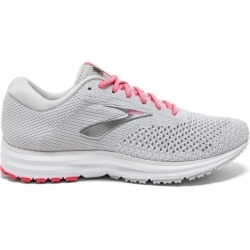 Brooks Revel 2 - Womens Running Shoes - Grey/White/Pink found on Bargain Bro India from SlashSport for $95.84