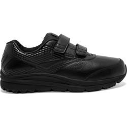 Brooks Addiction Walker 2 Leather Velcro - Mens Walking Shoes - Black