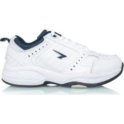Sfida Defy Junior Lace - Kids Cross Training Shoes - White/Navy found on Bargain Bro India from SlashSport for $37.63