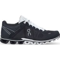 On Cloudflow - Womens Running Shoes - Black/White