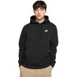 Nike Sportswear Club Fleece Pullover Mens Hoodie - Black
