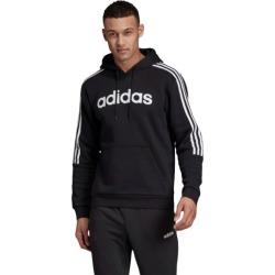 Adidas 3-Stripes Mens Hoodie - Black/White