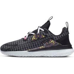 Nike Renew Arena SE - Womens Running Shoes - White/Black/Lotus Pink/Opti Yellow