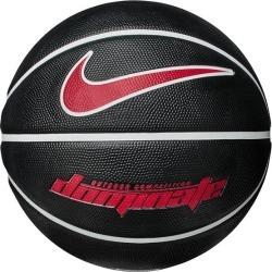 Nike Dominate Outdoor Basketball - Size 5 - Black/White/University Red