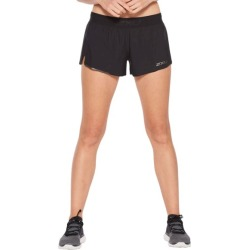 2XU GHST 3 Inch Womens Running Shorts - Black/Black Reflective found on MODAPINS from SlashSport for USD $50.65
