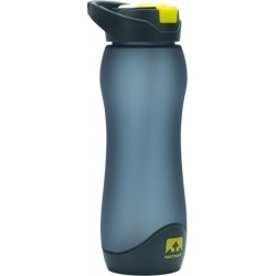 Nathan Flipstream Tritan Frosted BPA Free Water Bottle - 750ml - Cockatoo Grey/Yellow