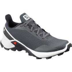 Salomon Alphacross - Womens Trail Running Shoes - India Ink/White/Black
