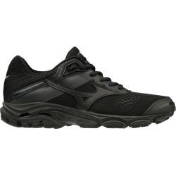 Mizuno Wave Inspire 15 - Womens Running Shoes - Triple Black/Dark Shadow