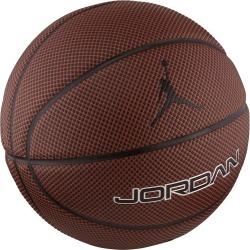Jordan Legacy 8P Basketball - Size 7 - Dark Amber/Black/Metallic Silver