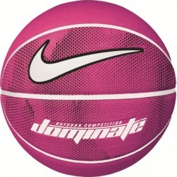 Nike Dominate Outdoor Basketball - Vivid Pink/White/Black
