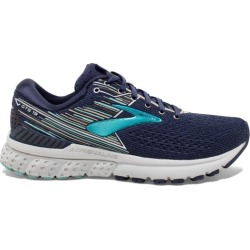 Brooks Adrenaline GTS 19 - Womens Running Shoes - Navy/Aqua/Tan found on Bargain Bro India from SlashSport for $135.56