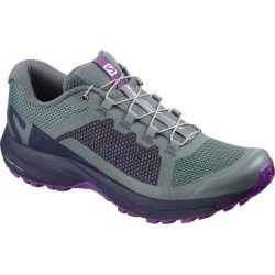 Salomon XA Elevate - Womens Trail Running Shoes - Stormy Weather/Evening Blue/Purple Magic