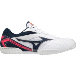 Mizuno Crossmatch Plio Rx4 - Mens Table Tennis Shoes - White/Dress Blues found on MODAPINS from SlashSport for USD $92.49