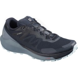 Salomon Sense Ride 3 - Womens Trail Running Shoes - Navy/Flint Stone/Angel Falls