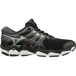 Mizuno Wave Horizon 3 - Womens Running Shoes - Black/Super Pink found on Bargain Bro from SlashSport for USD $86.50