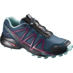 Salomon Speedcross 4 CS - Womens Trail Running Shoes - Mallard Blue/Reflecting Pond/Eggshell Blue