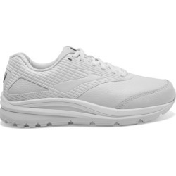 Brooks Addiction Walker 2 Leather - Womens Walking Shoes - White