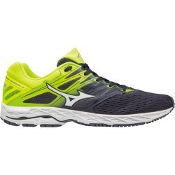Mizuno Wave Shadow 2 - Mens Running Shoes - Graphite/Safety Yellow