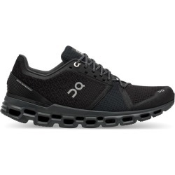 On Cloudstratus - Mens Running Shoes - Black/Shadow