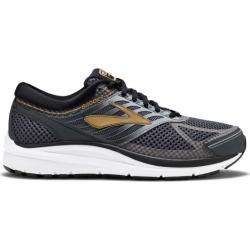 Brooks Addiction 13 (2E/4E) - Mens Running Shoes - Black/Ebony/Metallic Gold