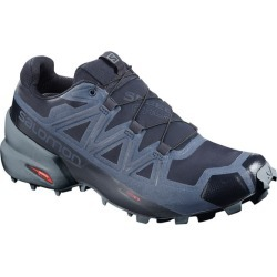 Salomon Speedcross 5 GTX - Mens Trail Running Shoes - Navy/Stormy Weather/Sea