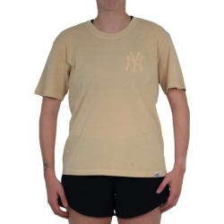 Majestic Athletic New York Yankees Elle Boxy Womens Baseball T-Shirt - Straw found on Bargain Bro India from SlashSport for $38.08